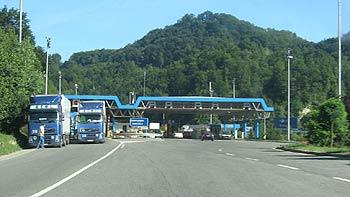 Border-crossing Gruzkovje. (novala)