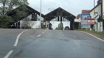 Bordercrossing Mitterretzbach - Hnanice. (novala)