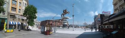 Skopje. (novala)