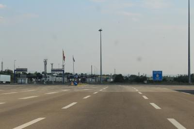 Border-crossing Srbjia - Makedonija. (novala)