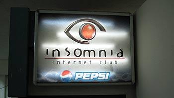 Internet Café. (novala)