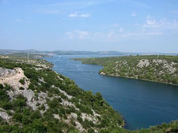 National Park Krka. (novala)