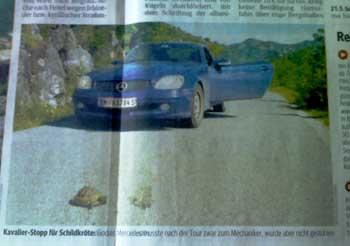 Mercedes SLK. (Kurier)