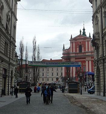 Ljubljana. (novala)
