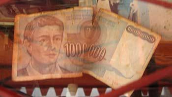 Yugoslavian bill. (novala)