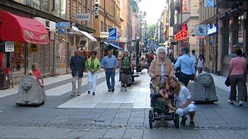 New Stockholm city center. (novala)