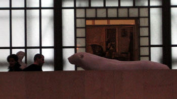 Inside Musée d'Orsay. (novala)