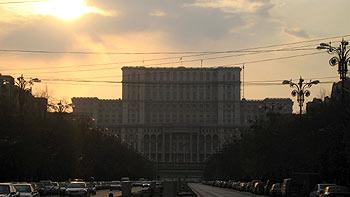 Ceausescu's palace. (novala)