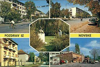 Postcard from Novske.