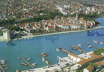 Postcard from Trogir.