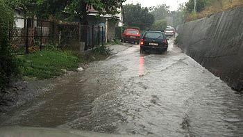 Rain puddles. (novala)