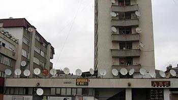 Satellite dishes. (novala)