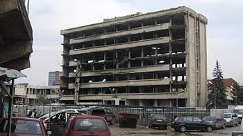 Bombed building. (novala)