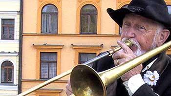 Trompeter in Prag