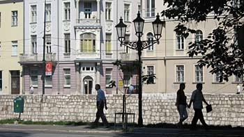 Street in Sarajevo. (novala)