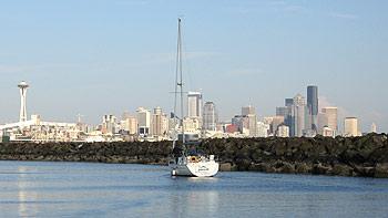 Skyline Seattle. (novala)