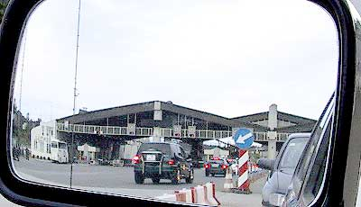 Border-crossing Sentilj A-SLO