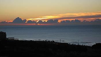 Sunrise. (novala)