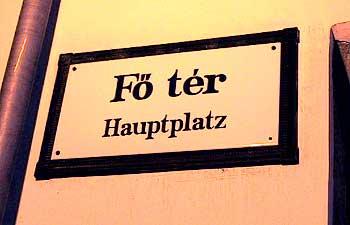 Sopron, Hauptplatz. (novala)
