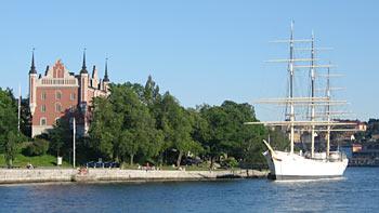 Stockholm waterfronts. (novala)