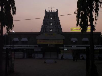 Tempel in White Fields