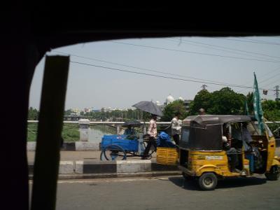 Verkehr in Hyderabad