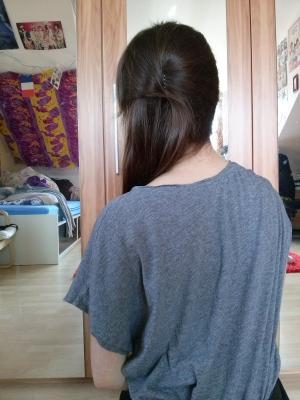 Studio4 Frisur Super Einfacher Side Up Do