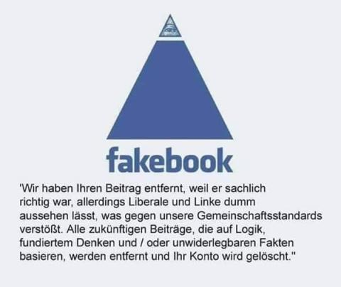 Facebook, gelöschte Artikel, gesperrte User