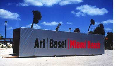 Container Art Basel Miami Beach