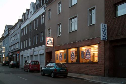 Der allererste Aldi - Laden