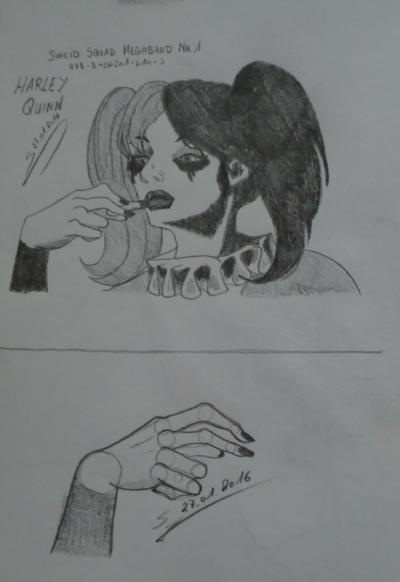 Harley Quinn aus dem Suicide Squad-Comic