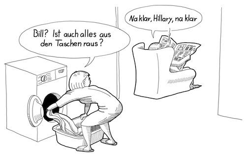"""Bill Clinton hat die Launchcodes """"verlegt"""""""