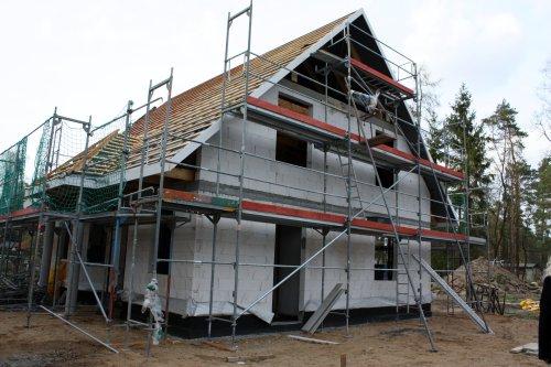 hausbau in wandlitz unser dach. Black Bedroom Furniture Sets. Home Design Ideas