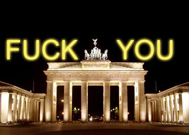 Fuck you! Licht an!