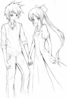 How to Draw Anime Couples Step by Step Anime People